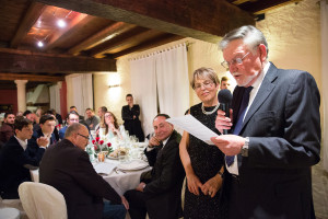 The founders of Cidiesse Engineering: Mr Dal Santo Carlo and Mrs Pozza Elide