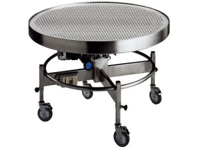 Cidiesse's revolving table