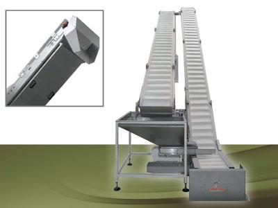 Technical details about our conveyor belts for food processing