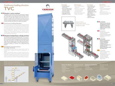 Brochure elevatori a carico continuo
