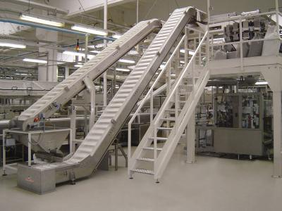Image of a food  processing conveyors