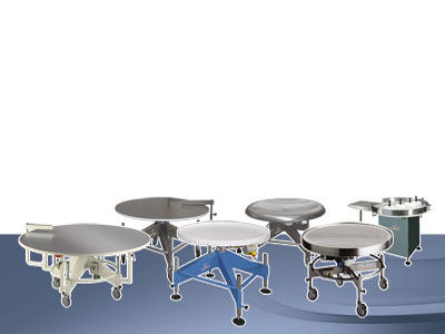 Revolving tables